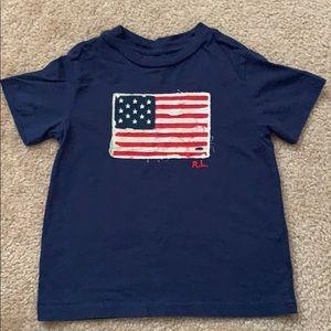 Polo Ralph Lauren Short American Flag T-Shirt 3T